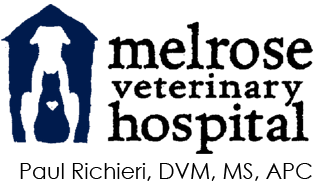 Melrose Veterinary Hospital logo